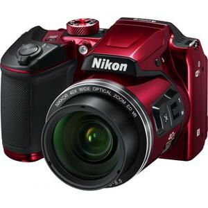 Цифровой фотоаппарат Nikon Coolpix B500 Red (VNA953E1)