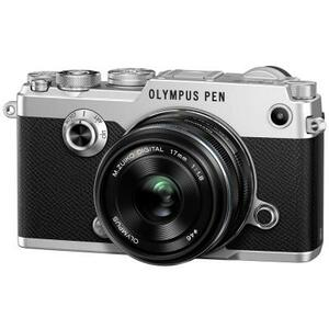 Цифровой фотоаппарат OLYMPUS PEN-F 17mm 1:1.8 Kit silver/black (V204063SE000)