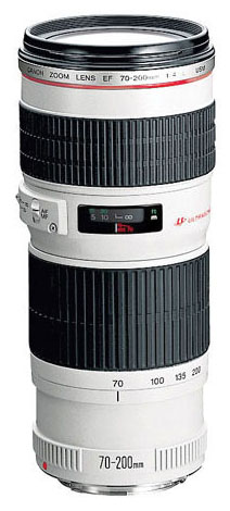Объектив EF 70-200mm f/4.0L USM Canon (2578A009)