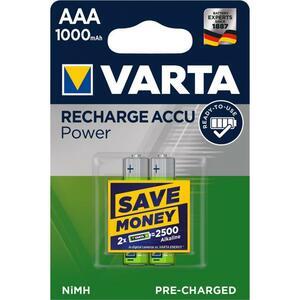 Аккумулятор Varta Rechargeable Accu 1000mAh NI-MH * 2 (05703301402)