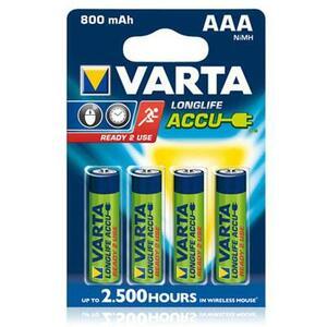 Аккумулятор Varta AAA Long Life 800mAh * 4 (56703101404)