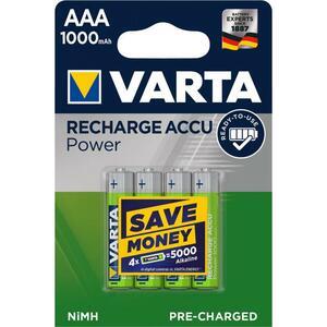 Аккумулятор Varta AAA Rechargeable Accu 1000mAh * 4 (05703301404)