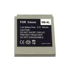 Аккумулятор к фото/видео EXTRADIGITAL Canon NB-4L (BDC2441)