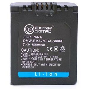 Аккумулятор к фото/видео EXTRADIGITAL Panasonic S006E (BDP2577)