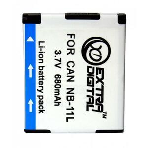 Аккумулятор к фото/видео EXTRADIGITAL Canon NB-11L (BDC2434)