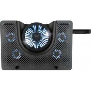"""Подставка для ноутбука Trust GXT 1125 Quno (17.3"""") Blue LED Black (23581_TRUST)"""