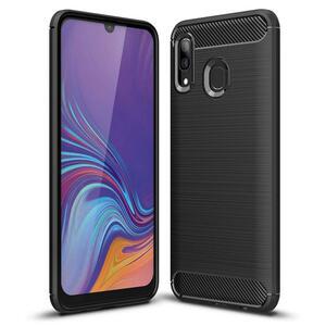 Чехол для моб. телефона Laudtec для SAMSUNG GalaxyA30 Carbon Fiber (Black) (LT-A30B)