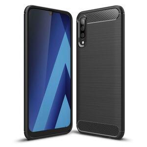 Чехол для моб. телефона Laudtec для SAMSUNG GalaxyA50 Carbon Fiber (Black) (LT-A50B)