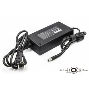 Блок питания к ноутбуку PowerPlant HP 220V, 19V 180W 9.5A (7.4*5.0) (HP180F7450)
