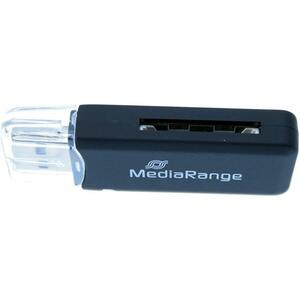 Считыватель флеш-карт Mediarange USB 2.0 black (MRCS506)