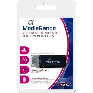 Считыватель флеш-карт Mediarange USB 3.0 black (MRCS507)