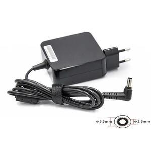 Блок питания к ноутбуку PowerPlant ASUS 220V, 19V 65W 3.42A (5.5*2.5) wall mount (WM-AC65F5525)