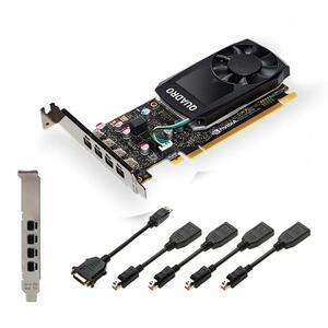 Видеокарта PNY QUADRO P1000 V2 4GB (VCQP1000V2-PB)