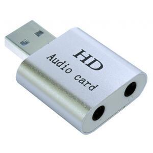Звуковая плата Dynamode USB-SOUND7-ALU silver