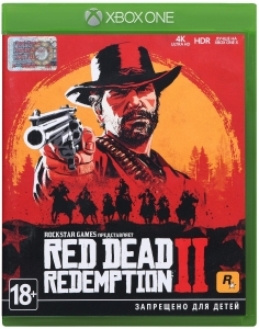Игра Red Dead Redemption 2 Xbox One UA