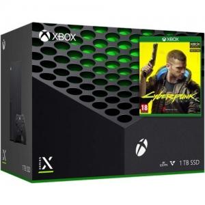 Microsoft Xbox Series X 1TB + Cyberpunk 2077