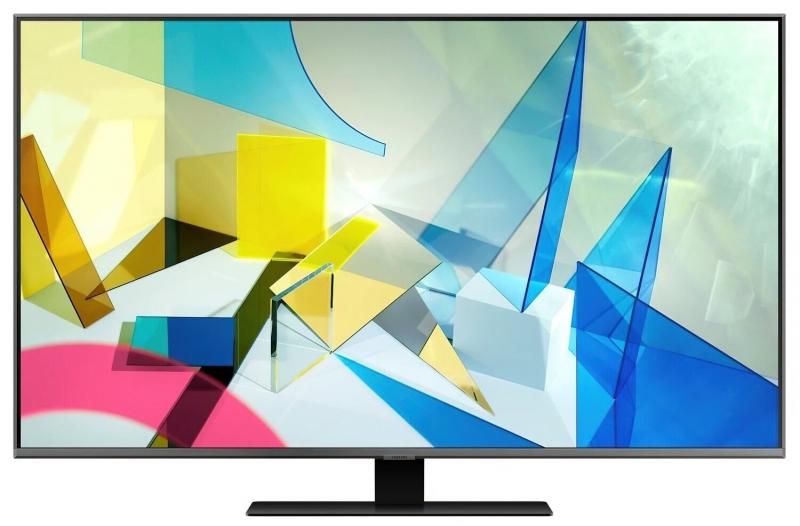 Телевизор SAMSUNG QLED QE50Q80T (QE50Q80TAUXUA) - Телевизор SAMSUNG QLED QE50Q80T (QE50Q80TAUXUA)