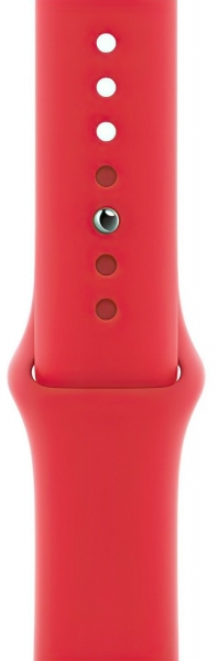 Apple Watch Series 6 44mm (GPS) Red Aluminum Case with (Product) Red Sport Band (M00M3) - 2