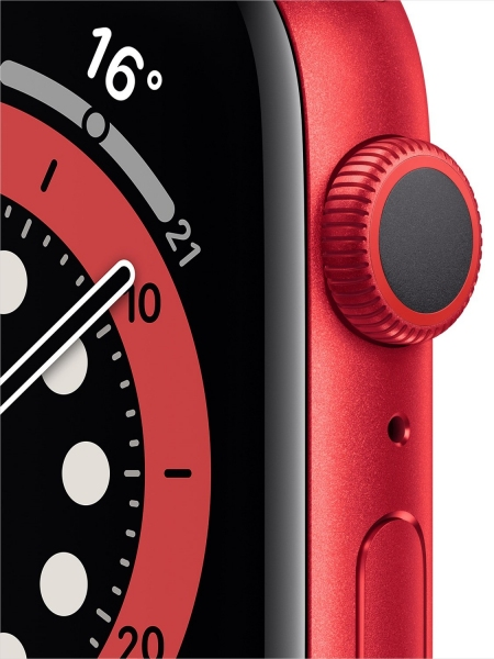 Apple Watch Series 6 44mm (GPS) Red Aluminum Case with (Product) Red Sport Band (M00M3) - 4